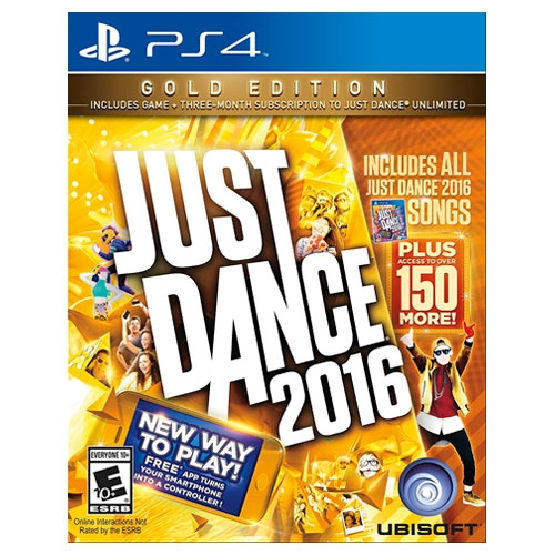 Just Dance 2016 Gold Edition PS4