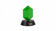 Lámpara The Legend Of Zelda Green Rupee 3D