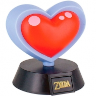 Lámpara The Legend Of Zelda Heart Container 3D