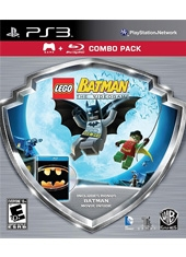 LEGO Batman PS3 Juego + DVD Combo Pack