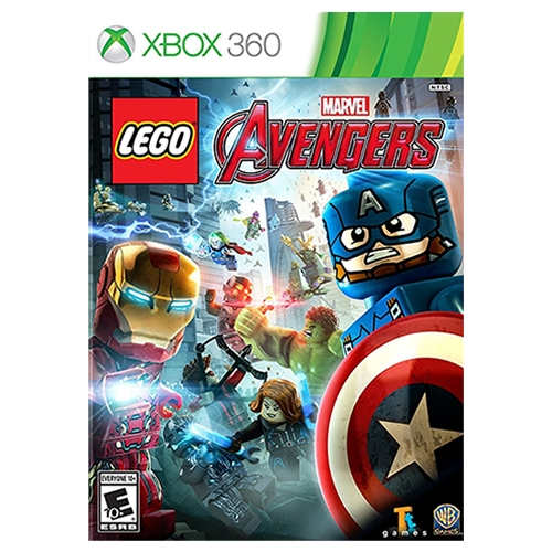 Lego Marvel Avengers Xbox 360 Microplay