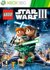 LEGO Star Wars III The Clone War Xbox 360
