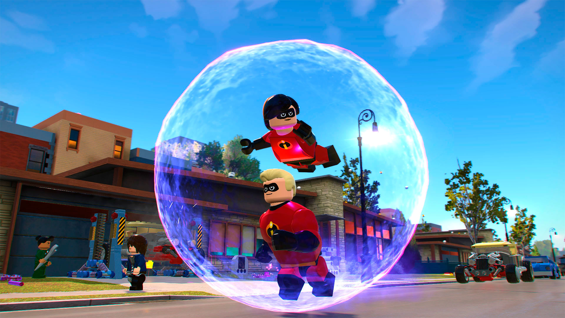 Lego The Incredibles Ps4 Microplay
