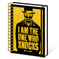 Libreta Breaking Bad The One Who Knocks