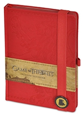 Libreta Premium Game Of Thrones Lannister