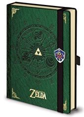 Libreta Premium The Legend Of Zelda TriForce