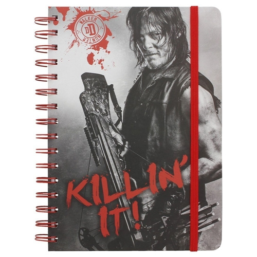 Libreta The Walking Dead Daryl Killing It