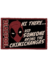 Limpiapies Deadpool Chimichangas