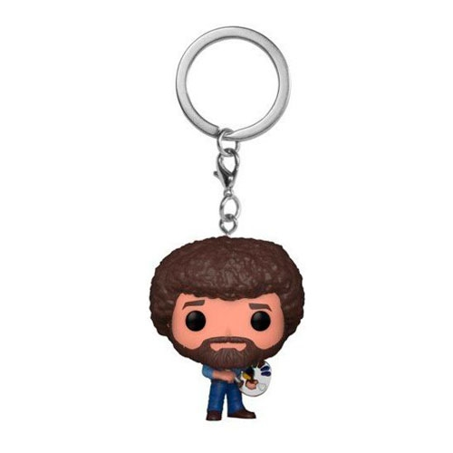 Llavero Funko Pocket Tv Bob Ross