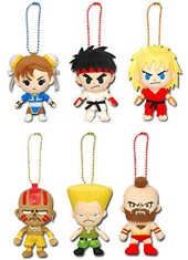 Llavero Peluche Street Fighter 4""