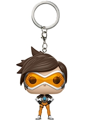 Llavero Funko Pocket POP! Overwatch Tracer
