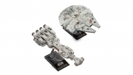 Maqueta Escala Millenium Falcon And Blockade Runner Star Wars Bandai