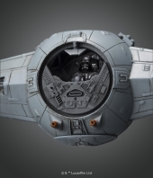 Maqueta Star Wars Escala 1/72 Darth Vader TIE Advanced x1 Bandai
