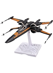 Maqueta Star Wars Escala 1/72 Poe Dameron X-Wing Starfighter Bandai