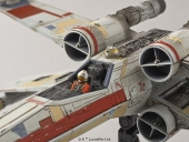 Maqueta Star Wars Escala 1/72 Red Squadron X-Wing Bandai