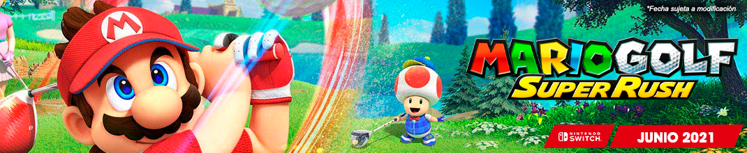 Mario Golf Super Rush Switch