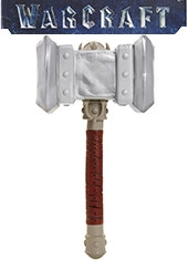 Martillo Warcraft Doomhammer