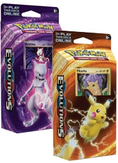 Mazo cartas Pokemon XY Evolutions TCG