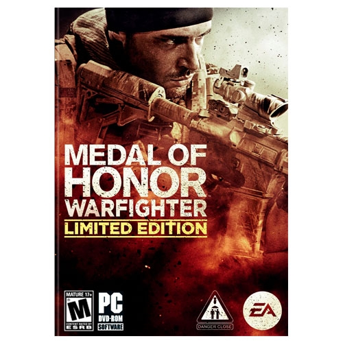 Medal Of Honor Warfighter Limited Edition PC