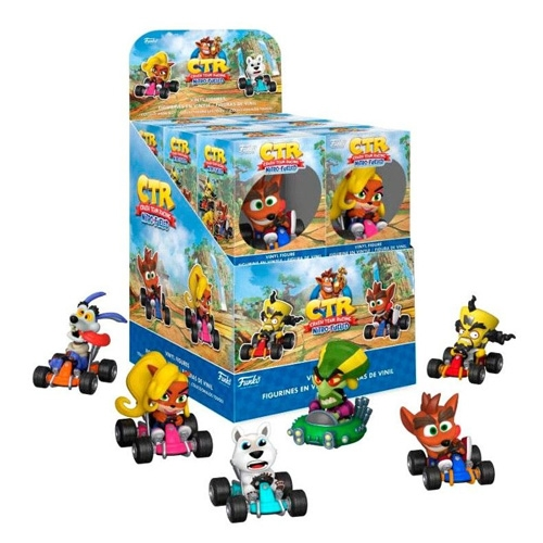 Figura Crash Bandicot Nitro Fueled Cars