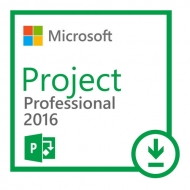Microsoft Project Professional 2016 Licencia 1 PC (Digital)