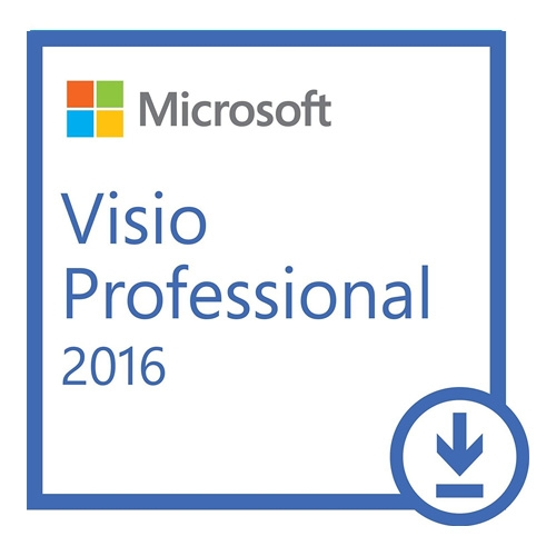 Microsoft Visio Professional 2016 1 PC (Digital)