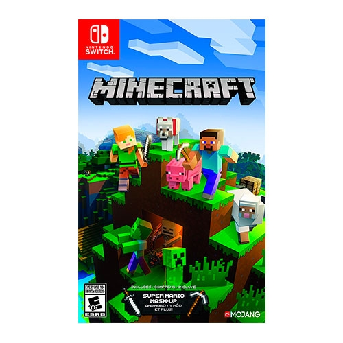 Minecraft Mash Up Mario Switch