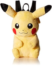 Mochila Plush Pokemon Pikachu