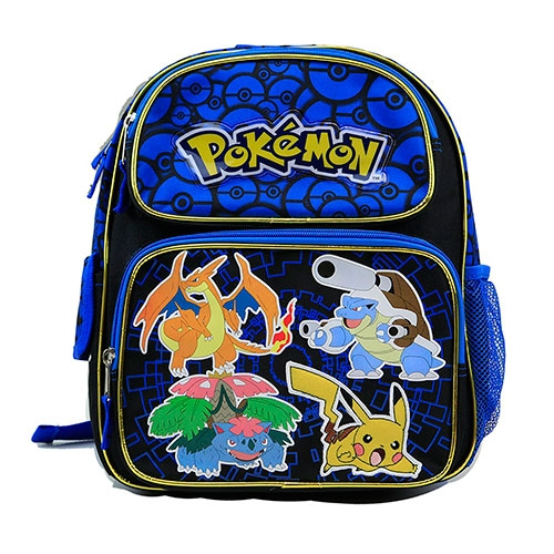 Mochila Pokemon Blue 12""