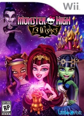 Monster High 13 Wishes Wii