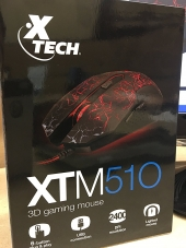 Mouse Gamer 3D XTM-510 Xtech