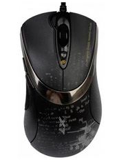 Mouse Gamer F4 3000 DPI V-Track A4Tech