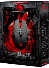 Mouse Gaming Headshot V7 3200 Dpi Bloody Series A4Tech