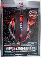 Mouse Gaming Headshot V8 3200 Dpi Bloody Series