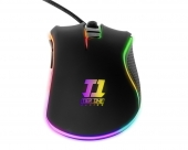 Mouse Indra RGB + Mousepad Arena Inferno Medium Tier One