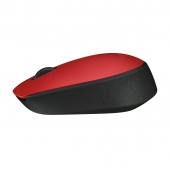 Mouse Wireless M170 Rojo Logitech