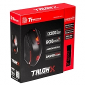 Mouse Talon X + Mousepad Dasher Tt eSports