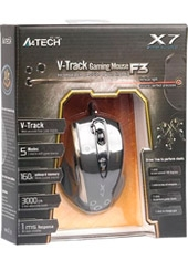 Mouse Gaming F3 3000 Dpi V-Track A4Tech
