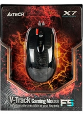 Mouse Gaming F5 3000 Dpi V-Track A4Tech