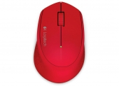 Mouse Wireless M280 Red Logitech