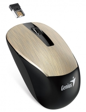 Mouse Wireless NX-7015 Blue Eye Gold Genius