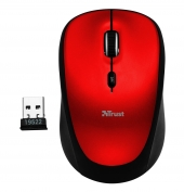 Mouse Wireless Yvi Rojo Trust