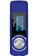 MP3 8Gb Recar FM Dual 3.5 Blue 7016 Microlab