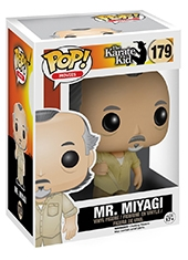 Figura POP! Karate Kid Mr Miyagi