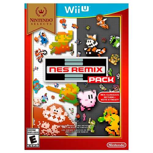 NES Remix Pack Nintendo Selects Wii U