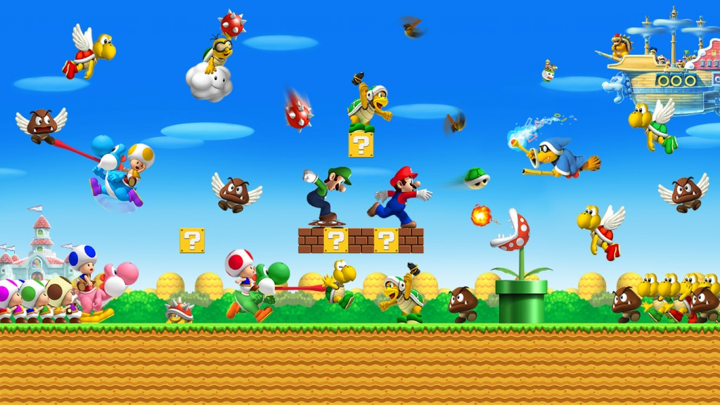New Super Mario Bros 2 3ds Microplay