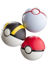 Pack 3 Pokebola Throw N Catch Pokemon Tomy