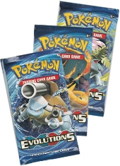 Pack 3 Sobres Cartas Pokemon XY Evolutions TCG