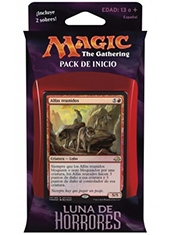 Pack de Inicio Cartas Magic The Gathering Luna de Horrores