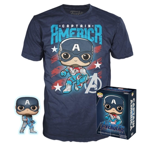 Pack Funko POP! Avengers Endgame Captain America Collector Box (S)